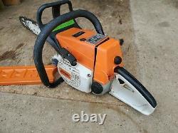 Stihl 026 Chainsaw RUNS GREAT! 18 inch bar and chain look! MS260 Chain Saw