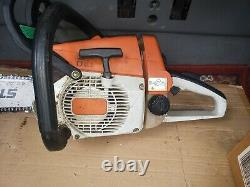 Stihl 026 chainsaw with 16 bar and chain clean wood cutter saw