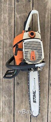 Stihl 028 Super AV Chainsaw, 16 Bar, Sharp Chain See Video of Saw in Action