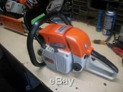 Stihl 028 Wood Boss Chainsaw With 20 Bar Very Good Running Saw