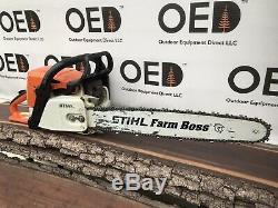 Stihl 029 Farm Boss Chainsaw VERY NICE Saw 54.1CC 20 Bar SHIPS FAST ms290