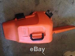 Stihl 029 chainsaw with case and saw tool