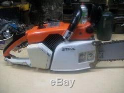 Stihl 031 Av Chainsaw With 22 Bar Very Good Running Saw
