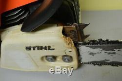 Stihl 034 AV withElectronic Quick Stop, 22 Bar & Case