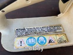 Stihl 036 QS PRO Chainsaw 62CC 1-OWNER SAW / NEW 20 BAR CHAIN / SHIPS FAST