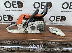 Stihl 038 AV Chainsaw STRONG RUNNING SAW With NEW 24 BAR & CHAIN FAST Ship
