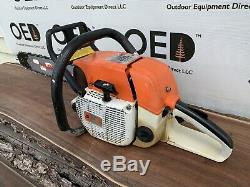 Stihl 038 AV SUPER Chainsaw VERY NICE 67cc Saw With NEW 20 Tsumura Bar / Chain