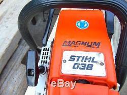 Stihl 038 Magnum Chainsaw