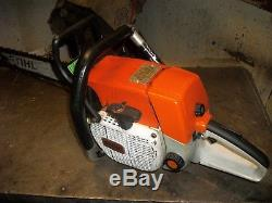 Stihl 038 Super Chainsaw With 25 Bar Good Running Used Saw