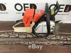 Stihl 044 Chainsaw 1-OWNER 71cc SOLID RUNNING OEM SAW 3/4 WRAP Ships Fast ms440