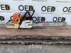 Stihl 044 Chainsaw Strong Running 71cc Saw With 20 Bar & Chain Ships FAST