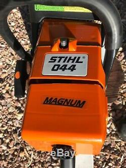 Stihl 044 chainsaw MS440 Very Snappy Duel Port Muffler Ready To Go Fully Renewed