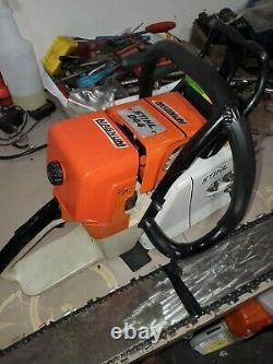 Stihl 044 magnum chainsaw with 32 inch bar & 2 new chains very nice saw