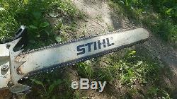 Stihl 051AV saw, bar and chain