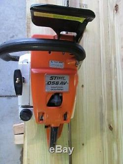 Stihl 056 AV Chainsaw with a 25 bar