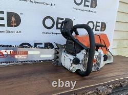 Stihl 064 AV Chainsaw VERY NICE 85cc Saw 3/4 WRAP New 32 Bar/Chain ms ShipsFAST