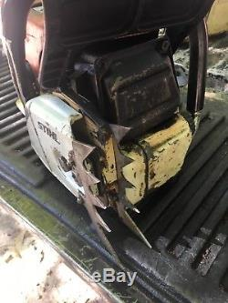 Stihl 064 AV Electronic Quick Stop 135# Of Com. Parts Or Repair. CHAINSAW