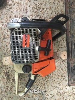 Stihl 066, CHAINSAW, Power head, PARTS Or repair, Low Compression