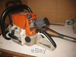 Stihl 066 MS660 Magnum powerful Racing chain saw HOT SAW Timber Sports Chainsaw