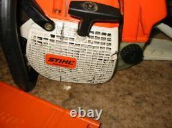 Stihl 066 Magnum RARE Red EYE Chainsaw chain saw POWER 660 661 440 460 044 046