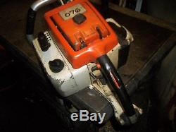 Stihl 076 Chainsaw With 50 Bar Good Running Used Saw Very Powerful