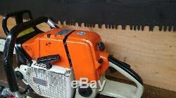 Stihl 084av 084 Chainsaw Wrap Handle With 3 Foot Bar/ Chain Runs Excellent 090 0
