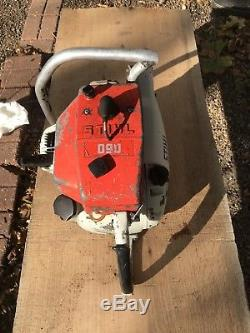 Stihl 090 Chainsaw Vintage Big Hot Saw SHIPS FAST