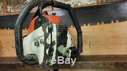 Stihl 090av 090 Av Chainsaw Full Wrap Handlebar Powerhead Sale 152lbs Compressi
