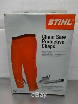 Stihl Chain Saw Camouflage Protective Chaps # W 30- 42