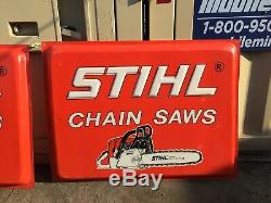 Stihl Chain Saws Sign, Large, (approx) 48 x 36