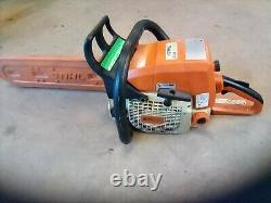 Stihl Chain saw 029 super 16 bar will run but needs tune up. Otherwise Good con
