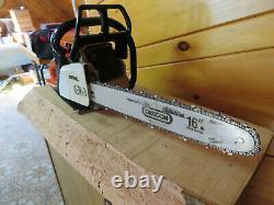 Stihl Chainsaw 021 16 inch New Bar And Chain 35.2cc Saw