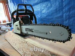 Stihl Chainsaw 025 16 inch Bar And New Chain 45cc Saw