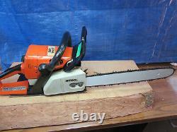Stihl Chainsaw 025 16 inch New Bar And Chain 45cc Saw