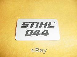 Stihl Chainsaw 044 Name Tag New Oem # 1128 967 1507 - Box674