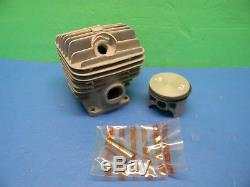 Stihl Chainsaw 046 Ms460 Oem Piston & Cylinder # 1128 020 1221 This Is 52mm