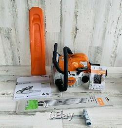 Stihl Chainsaw Chain Saw MS180 NEW with 16 Bar and Cover for Homeowner Saws