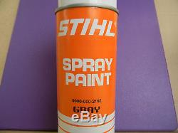Stihl Chainsaw Spray Paint. Oem Gray Color # 0000 000 2102 This Is A 12oz Can