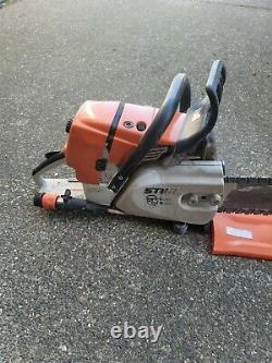 Stihl Gs461 16 Gas Powered Rock Boss Concrete Chain Saw Gs 461