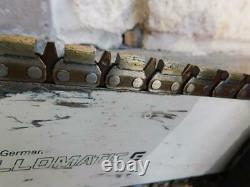 Stihl Gs461 Rock Boss Concrete Saw Diamond Chain Concrete Chainsaw