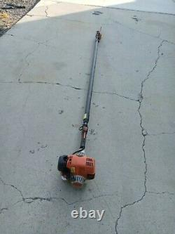 Stihl HT101 Commercial Pole Saw bar chain extending