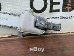 Stihl HT FS Pole Saw Gear Head Cutter OEM Attachment 12 Bar / Chain KM FastShip