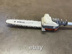 Stihl HT KM Pole Saw Gear Head KOMBI Attachment 12 Bar / Chain KM SHIPS FAST