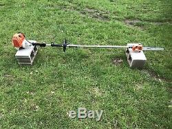 Stihl KM110R Commercial Trimmer POLE SAW / HEAVY DUTY SOLID RUNNING