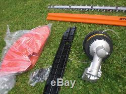 Stihl KM130 Combi Hedge Trimmer New Strimmer Chainsaw Fplit Shaft Kombi KM HL