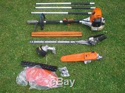 Stihl KM130 Combi New Strimmer Hedge Trimmer Chainsaw Split