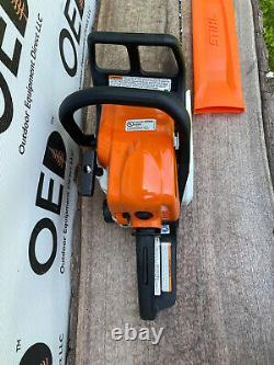 Stihl MS170 Chainsaw ONLY USED ONCE! 30CC SAW With 16 Bar & Chain SHIPS FAST