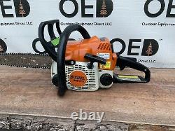 Stihl MS170 Chainsaw Strong Running 30CC SAW With 12 Bar & NEW Chain SHIPS FAST