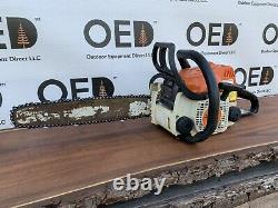 Stihl MS170 Chainsaw Strong Running 30cc Gas Saw 16 Bar NEW Chain- SHIPS FAST