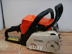Stihl MS180C chainsaw, tool less chain, runs great, nice saw